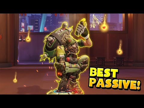 That's why Junkrat Has The BEST PASSIVE!! - Overwatch Funny Moments Best Plays 40
