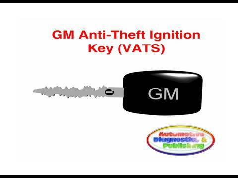 GM VATS Ignition Key Security