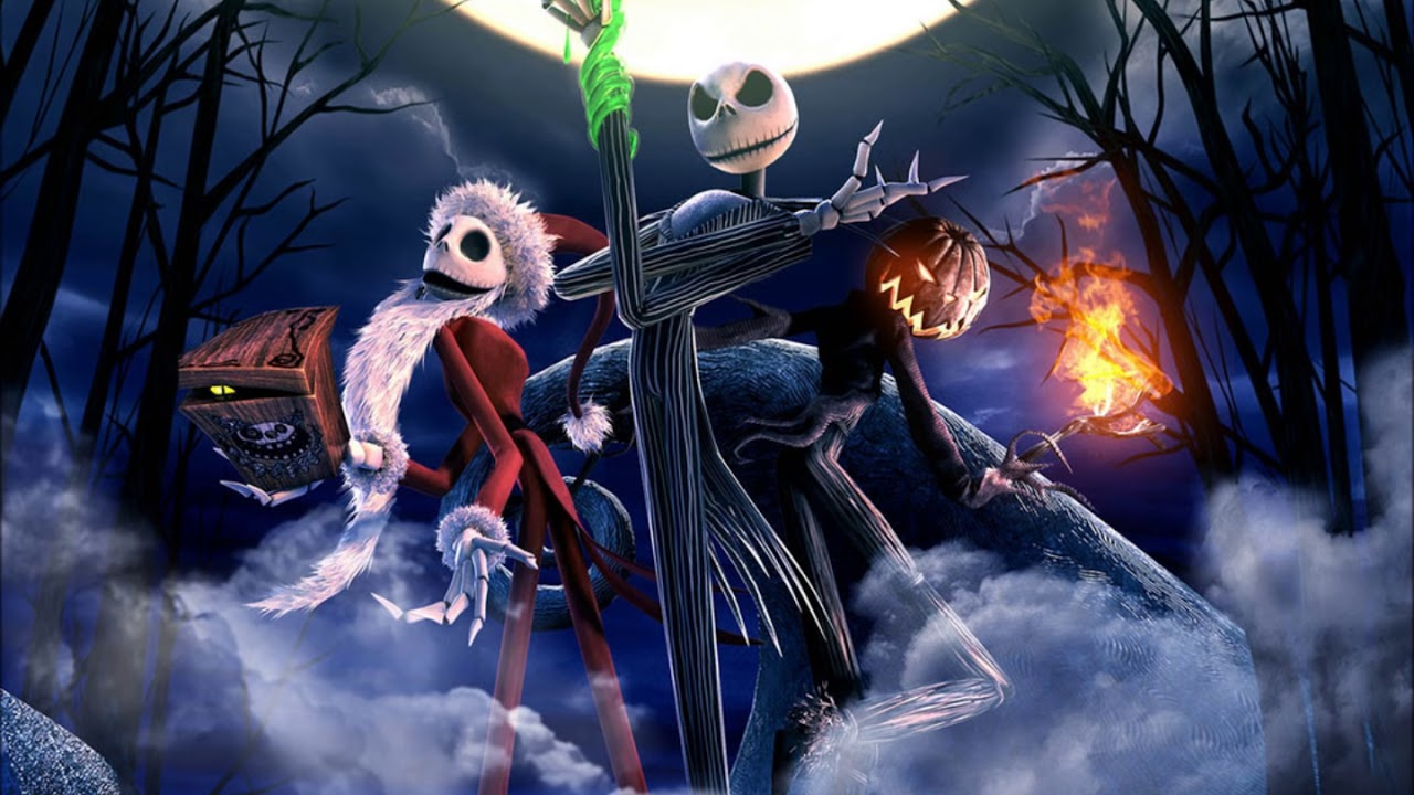 nightmare before christmas halloween song | x-mas