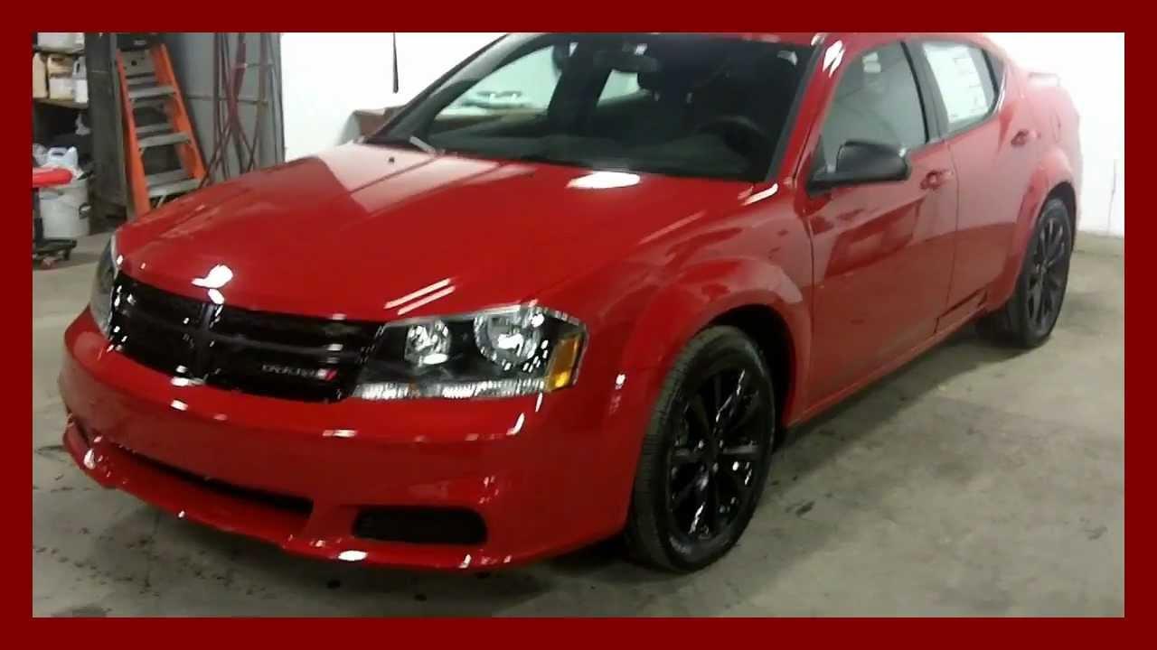 2013 Dodge Avenger BlackTop Red At Landry Auto Dodge Laval