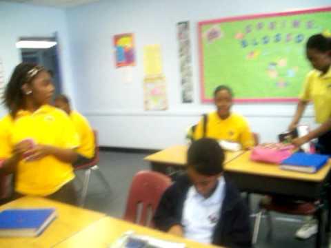 Northwest Christian Academy 7th graders