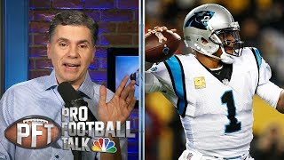 What does Cam Newton's future hold after Ron Rivera's firing? | Pro Football Talk | NBC Sports