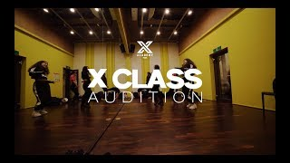 X CLASS AUDITION - BEHIND THE SCENES