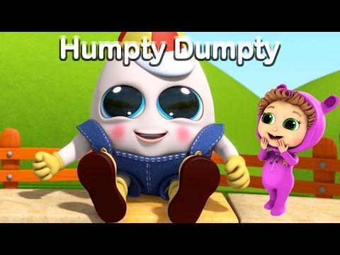 Humpty Dumpty   Nursery Rhymes  Kids Songs