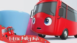 Playing With Skittles   Little Baby Bus   Kids Cartoons   Children's Stories   Go Buster