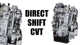 The World's First DCVT Transmission - How It Works