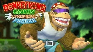 Donkey Kong Country: Tropical Freeze - Part 6 [2-2 Mountain Mania] - Nintendo Switch