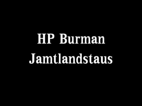 HP Burman Jamtlandstaus