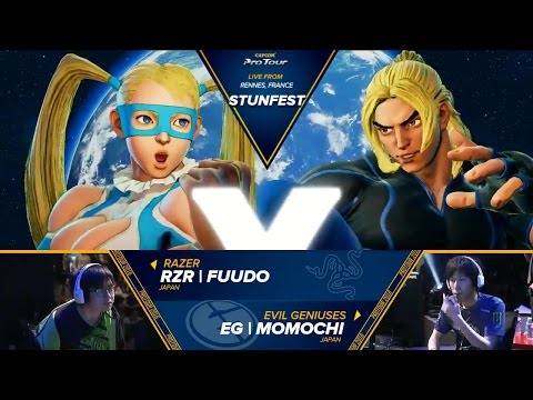 SFV: RZR | Fuudo vs EG | Momochi - Stunfest 2016 Grand Final