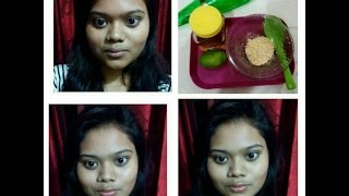 DIY||Home made face pack for removing sun burn||BANGLA||Makeup and Beauty with Era||