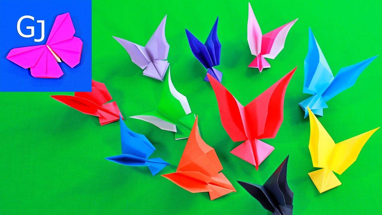Красивые поделки оригами для детей
