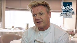 3-Michelin star chef Gordon Ramsay, talks about Matt Abé and running his London restaurant