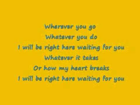 wherever you go richard marx lyrics