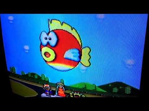 Super Mario Kart ending w/ Peach