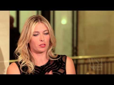 Maria Sharapova Discusses Sugarpova and her brand with WSJ's Lee Hawkins
