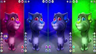 Learn Colors with My Talking Tom Colours for Kids Animation Education Cartoon Compilation P1Q