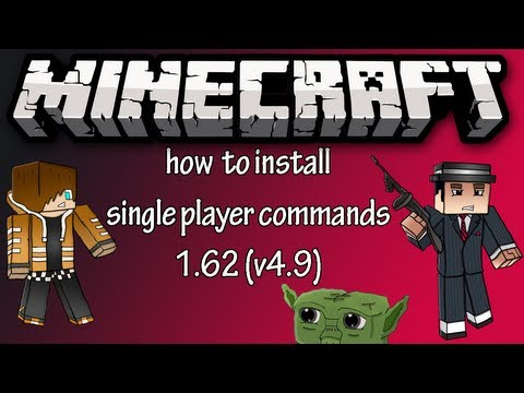 Minecraft: How to install single player commands (1.6.2)