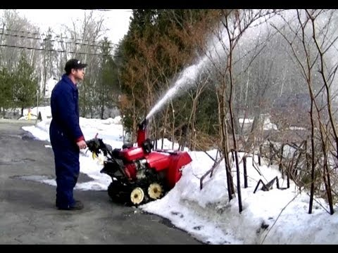 Auger Gear Box Repair on Honda Snowblower Part 3/3