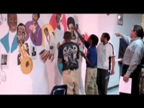 West St. John High School Mural Project: All that Jazz and More