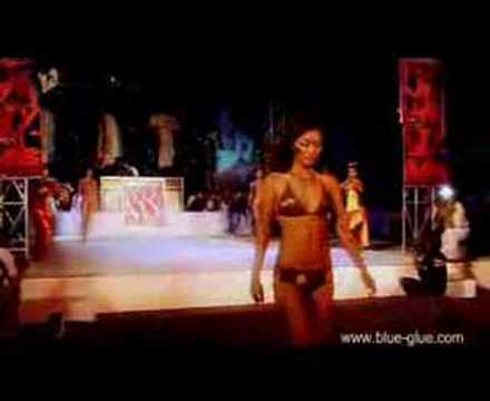 bikini models fashion show