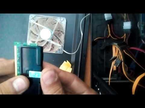 Ставим Радиатор для оперативной памяти