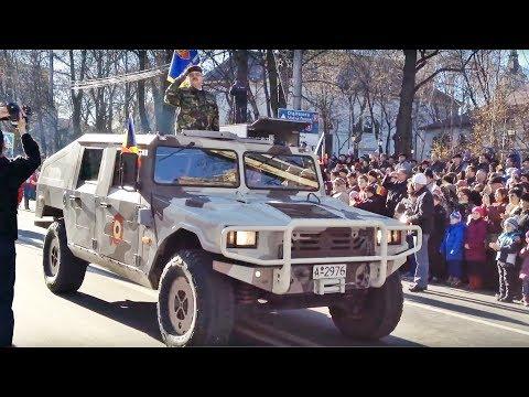 Parada militara de Ziua Nationala - Suceava, 1 decembrie 2013
