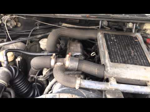 Mitsubishi 4D56 2.5L Turbo Charged Diesel Engine Swap Motor Intercooled