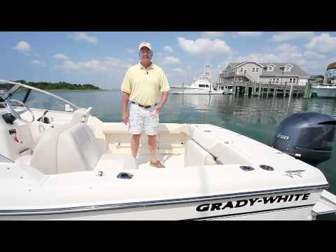 Take a tour of the Grady-White FREEDOM 225 dual console boat in this ...
