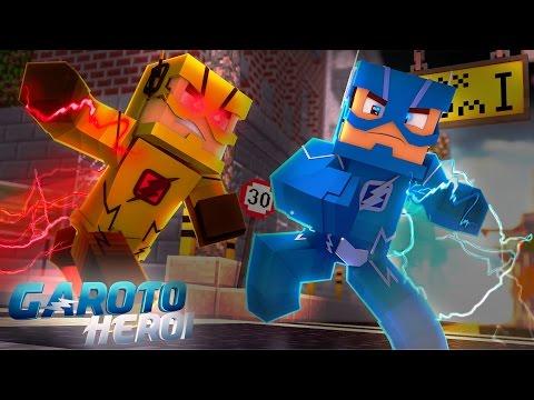 Minecraft: GAROTO HERÓI - ENCONTREI O FLASH REVERSO! #08 thumbnail