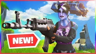 *NEW* HEAVY ASSAULT RIFLE Gameplay in Fortnite Battle Royale