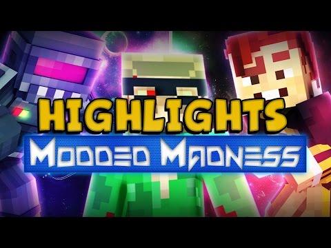 Highlights & Fails! - MINECRAFT! Modded Madness #10