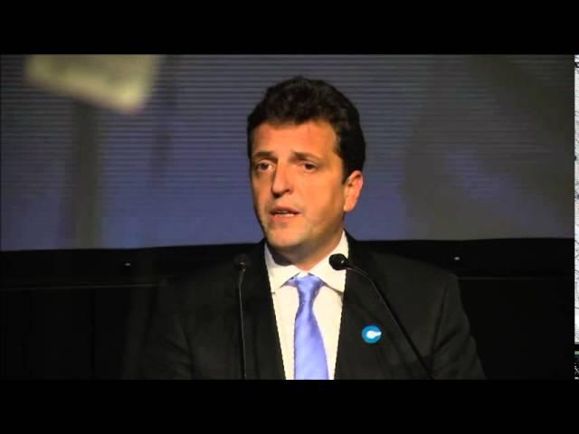 Noche de Conciencia 2014   Discurso de Sergio Massa, Diputado Nacional y ex Intendente de Tigre.