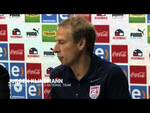 Jurgen Klinsmann and Jozy Altidore share their takeaways after Chile loss