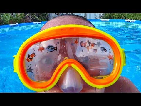 Фикс прайс маска для плавания