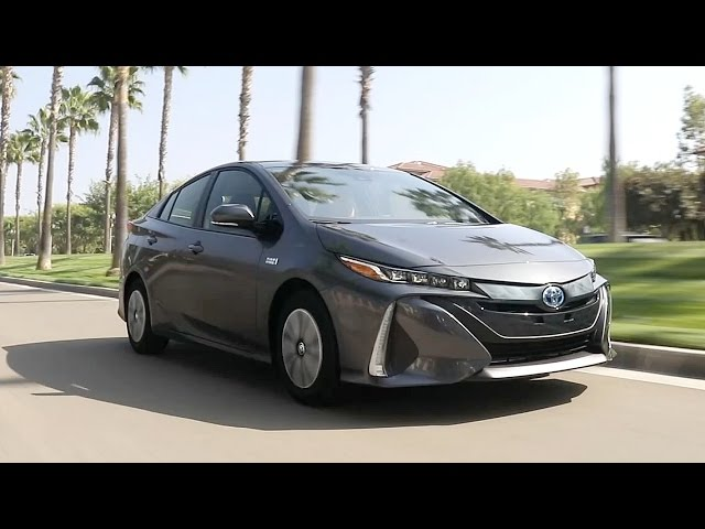 2017 Toyota Prius Prime - Review and Road Test - YouTube