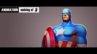 Marvel Avengers™: Battle for Earth - Animation Making of - Squeeze Studio | Ubisoft 3/3
