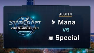 Mana vs. Special PvT - Group G Stage 3 - WCS Austin 2017 - StarCraft II