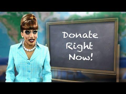 Bianca Del Rio Is Hurricane Bianca!  Film Fundraiser Promo video