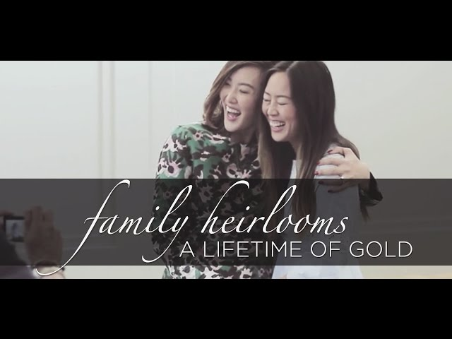 A Lifetime of Gold- Family Heirlooms
