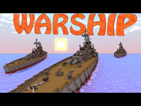 Minecraft Archimedes Ships Mod & Small Boats Mod Showcase - Pirate Ships!