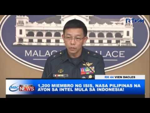 1,200 MIEMBRO NG ISIS, NASA PILIPINAS NA AYON SA INTEL MULA SA INDONESIA!