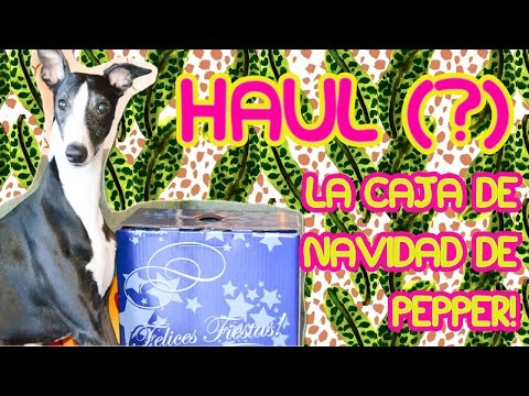 HAUL: Pepper y su caja navideña - Fashion Diaries