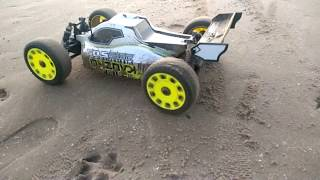 Kyosho DBX VE 2.0 RC Buggy Beach Wet Sand Bash 2S Lipo Lytham St Annes!