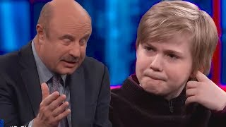 Fortnite Addicted Child GOES CRAZY On Dr. Phil