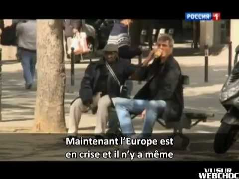Reportage russe sur l'immigration en France