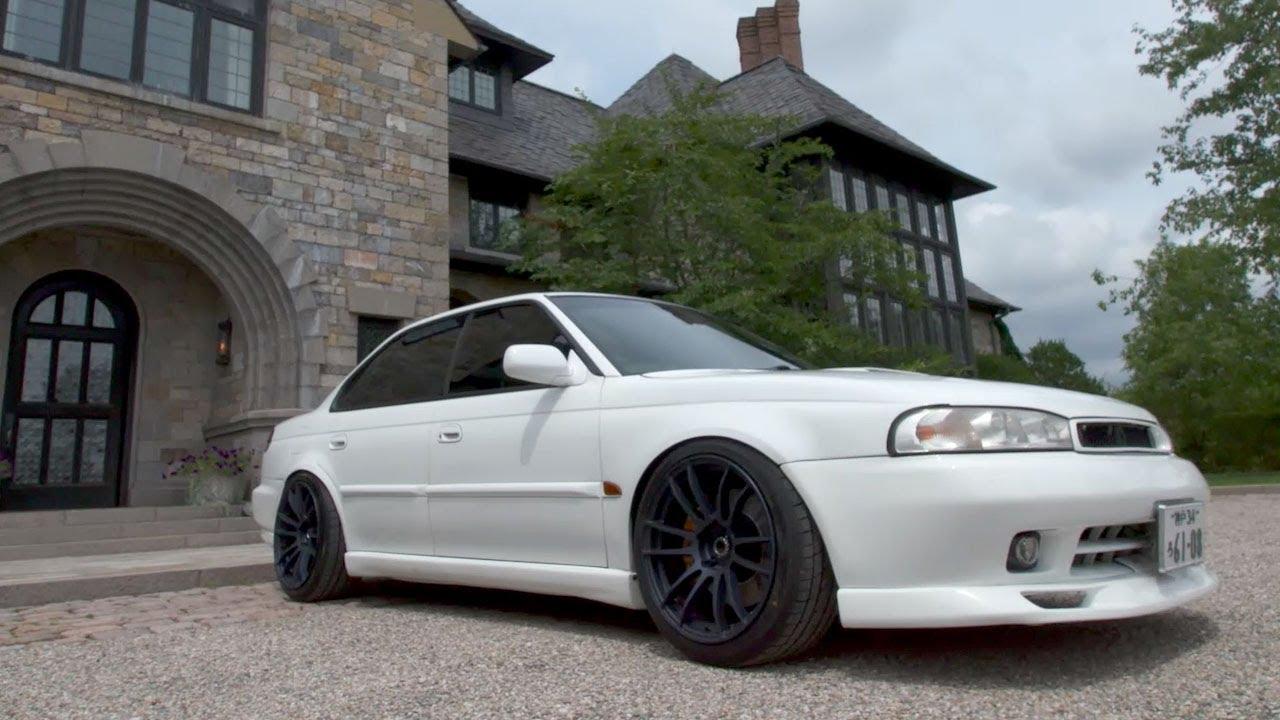 Twin-turbo Subaru Legacy  How Jdm Can You Go   Tuned