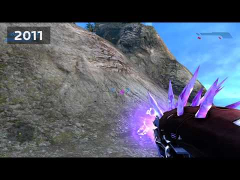 Halo: CE and Halo: Anniversary Sound Comparison: Needler