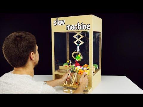 How to Make Hydraulic Powered Claw Machine from Cardboard