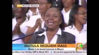 Mutula's Requiem Mass