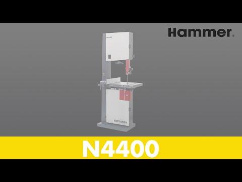 HAMMER® - Bandsaw N4400 (ENG) - Part 1